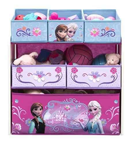 Delta Children Multi-Bin Toy Organizer, Disney Frozen by Delta Children (Frozen Multi Bin Organizer compare prices)