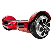 Hoverzon XLS Self Balancing Hoverboard, Red