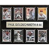 MLB Arizona Diamondbacks Paul Goldschmidt Plaque (8-Card), 12 x 15-Inch