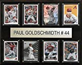 MLB Arizona Diamondbacks Paul Goldschmidt Plaque (8-Card), 12 x 15-Inch