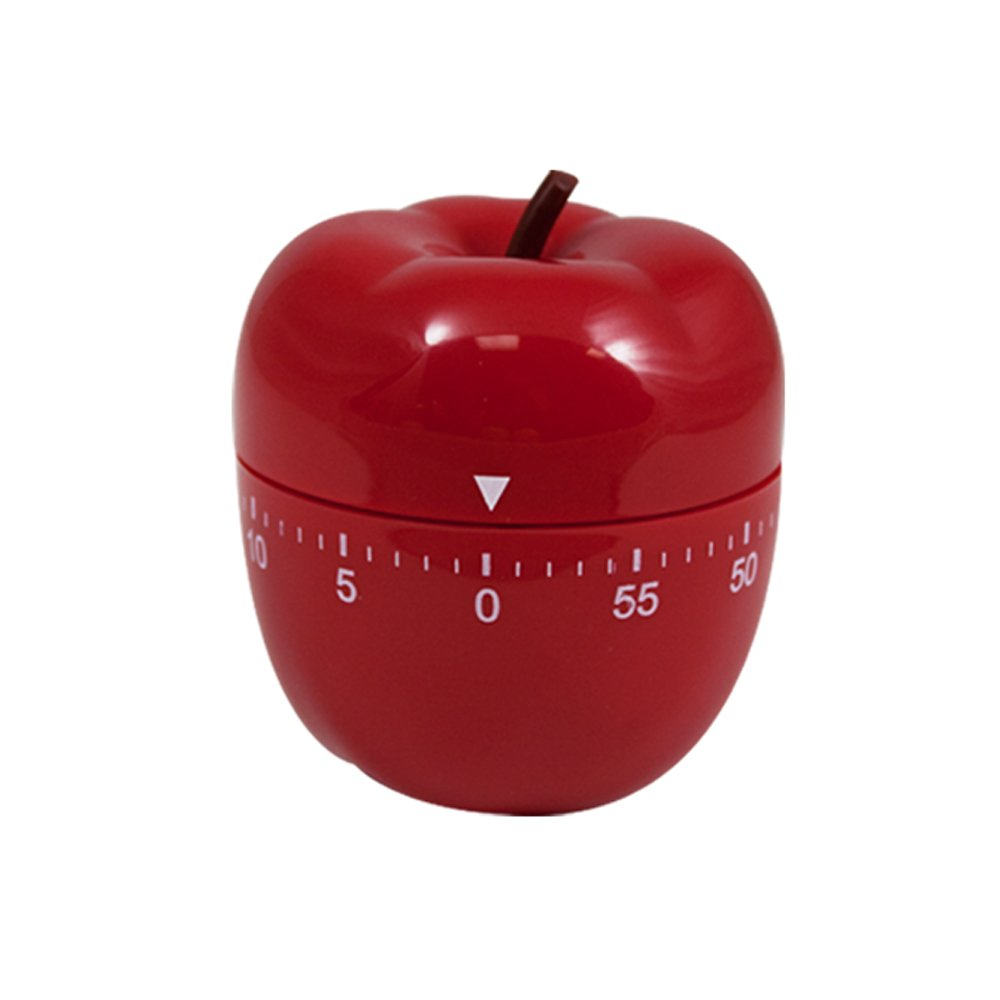 Kitchen Timer Red Apple