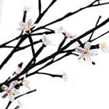 5Ft. Cherry Blossom Tree Light 120 LED Warm White Decorative Party