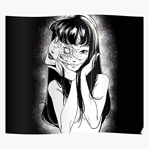 Amazon Com Cute Girl Interesting Black Sketch Old Weird Ito Gtsc Tomie Ghost Gyo Horror Strange Beautiful Junji Demon Manga Scary Succubus Asain Uzumaki New Japanese Home Decor Wall Art Print Poster
