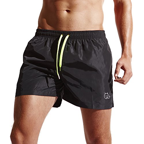 Funycell Men's Shorts Swim Trunks with Pockets