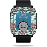 MightySkins Protective Vinyl Skin Decal for Pebble Time Smart Watch Cover wrap Sticker Skins Aztec Pyramids