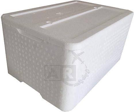 A/R - Caja térmica de poliestireno de 30 kg / 30 l - Caja térmica - Caja térmica para transportar alimentos: Amazon.es: Deportes y aire libre