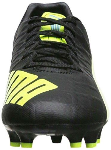 PUMA Mens Evospeed 4.4FG Soccer Shoe Black/Safety Yellow TTKDi9I