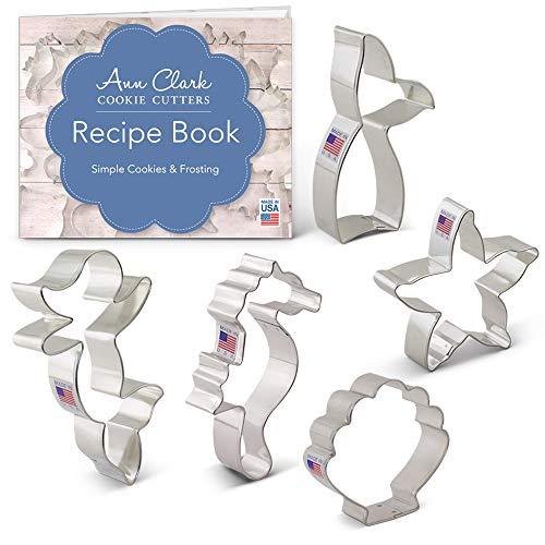 Mermaid Cookie Cutter Set - 5 piece -