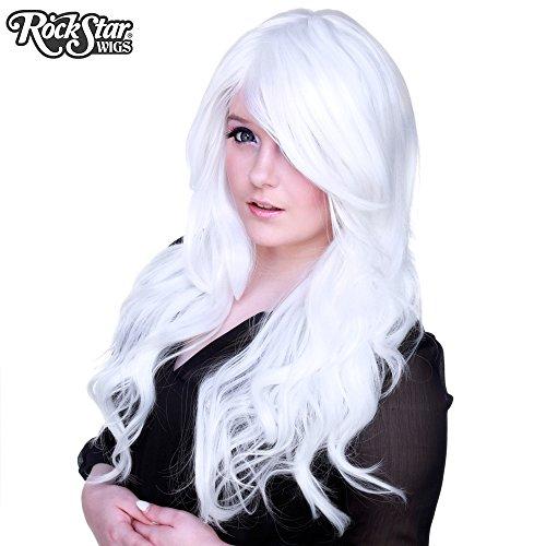 [RockStar Wigs Farrah White] (Farrah Fawcett Wig)