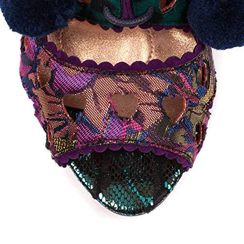 Multi Tease Punta Con Mujer Sandalias purple Choice Poetic Para Verde Abierta By Licence G Irregular TqIxCOw