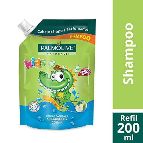 Shampoo Palmolive Naturals Kids Cabelo Cacheado 200ml Refil