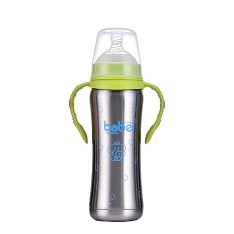 Diuspeed - Botella isotérmica para bebé (240 ML, Acero ...