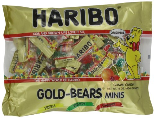 Haribo Goldbears Minis, 16-Ounce Bags (Pack of 3)