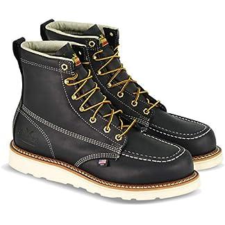 Thorogood Men's American Heritage 6″ Moc Toe, MAXwear Wedge Non-Safety Toe Boot