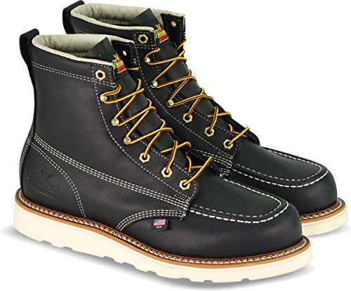 Thorogood American Heritage Boot, Black, 12 EE US