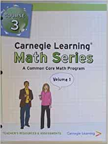 Amazon.com: Carnegie Learning, Math Series, A common Core ...