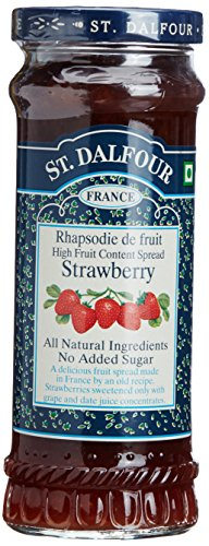 St. Dalfour All Natural Fruit Spread Strawberry -- 10 (All Natural Jam)