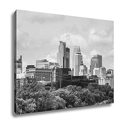 Amazon Ashley Canvas Downtown Minneapolis Minnesota Wall Art
