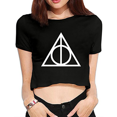 TLK Custom Women Harry Potter And The Deathly Hallows Midriff Tshirts (Christmas Samsung Promotion)