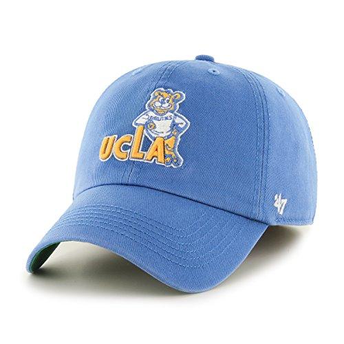 Blue Franchise Hat - '47 NCAA Ucla Bruins Franchise Fitted Hat, Blue Raz 2, Large