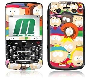 MusicSkins, MS-SPRK80043, South Park - Group, BlackBerry Bold (9700), Skin