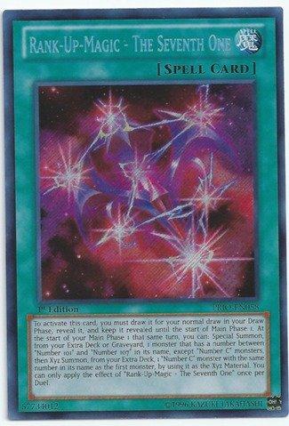 (Yu-Gi-Oh! - Rank-Up-Magic - The Seventh One (PRIO-EN058) - Primal Origin - Unlimited Edition - Secret Rare)