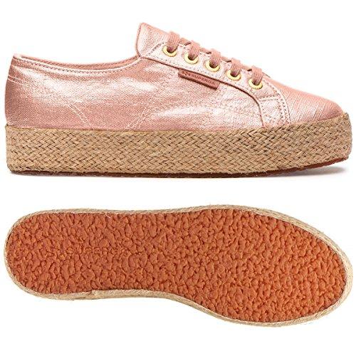 Tela Rose Superga Donna Linrbrropew Sneaker 2730 Bassa 7Y0Yrt