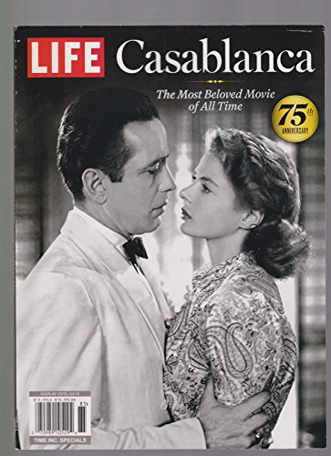 LIFE MAGAZINE CASABLANCA THE MOST BELOVED MOVIE OF ALL TIME 75th - International Mail Priority Usps Time