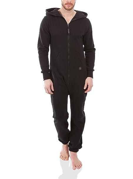 Zipups Mono-Pijama Negro S