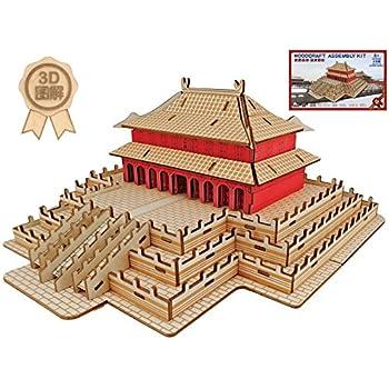 Amazon.com: Laser Cut DIY Assembly Construction Wood