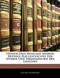 Studien Über Menelaos' Sphärik, Axel Anthon Björnbo, 1142573826
