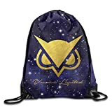 MPOD Vanoss Gaming Gold Owl Logo Drawstring Backpack Bag