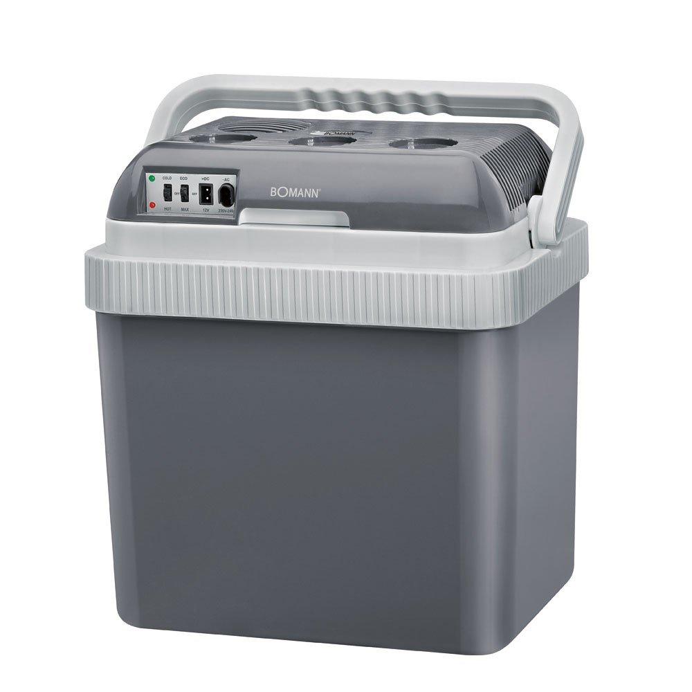Bomann KB 9486 CB - Nevera portátil, 25 litros, A+, color Gris [Clase de eficiencia energética A] REE17 694861