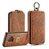 Galaxy S9 Zipper Wallet Case,AKHVRS Premium...
