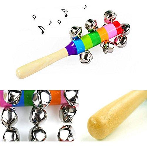 [New Cute Rattle Baby Children Kids Handbells Developmental Toy Bed Bells Infant] (Cute Kid Halloween Songs)