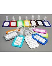Plastique de voyage scolaire Lot de bagages Valise Sac Bagage d'étiquettes de cartes d'identité