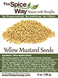 The Spice Way Yellow Mustard Seed - | 6 oz