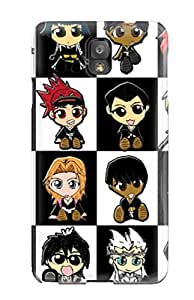 New Arrival Premium Note 3 Case Cover For Galaxy (chibi) 7831072K80032325