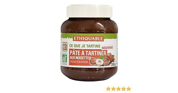 Ethiquable Crema de Cacao con Avellanas Bio - 350 gr: Amazon.es: Alimentación y bebidas