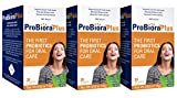 Evora Plus Probiotics for Oral Care Naturally Whitens Teeth Freshens Breath(Pack of 3)