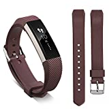 Ugood_ 2019 Replacement Wrist Band Silicon Strap for Fitbit Alta/Alta HR Smart Watch Bracelet (Brown)