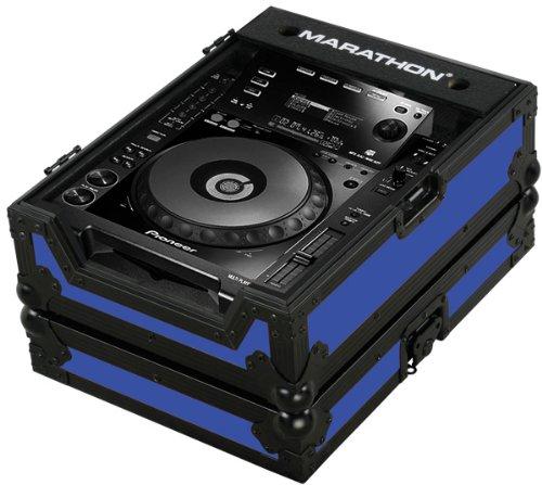 [해외]마라톤 비행로 MA-CDJ900Blkblue 파랗 - 까만 시리즈 - Pioneer CDJ900를위한 상자 및 다른 모든 큰 체재 CD 디지털 방식으로 턴테이블/Marathon Flight Road MA-CDJ900Blkblue Blue - Black Series - Case for Pioneer CDJ900, And All Other Large...