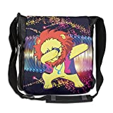 Lion Hip Hop Fashion Print Diagonal Single Shoulder Bag