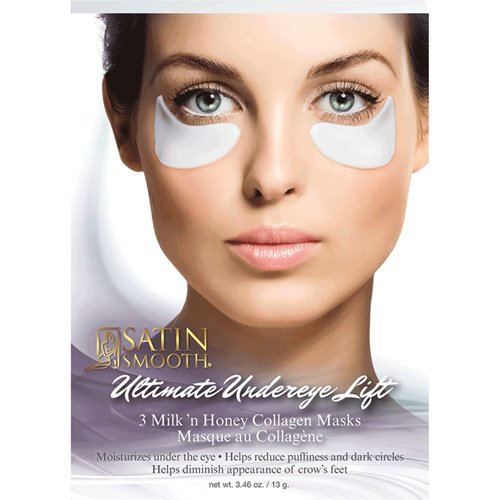 - SATIN SMOOTH Ultimate Undereye Lift Collagen Mask 3 Pair