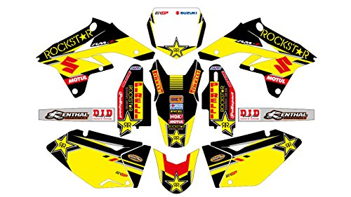 AM 006 SUZUKI RMZ 250 2007-2009 DECALS STICKERS GRAPHICS KIT