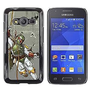 iKiki Tech / Estuche rígido - Boba Fett - Hunter - Samsung Galaxy Ace 4