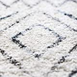 Maples Rugs Abstract Diamond Modern Distressed Non