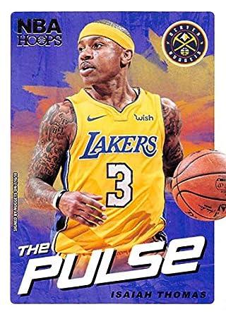 73dda9514 2018-19 NBA Hoops The Pulse  3 Isaiah Thomas Denver Nuggets Official  Trading Card