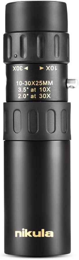 Original Fernglas Nikula 10 30x25 Zoom Monokular Hochwertige Teleskoptasche Binoculo Jagd Optisches Prisma Reichweite Kein Stativ Sport Freizeit
