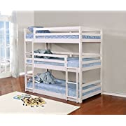 Coaster Home Furnishings Triple Layer Bunk Bed